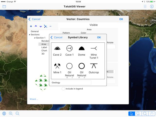 TatukGIS - Better dialog boxes on iOS and Android